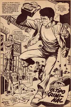 comic art by Don Perlin