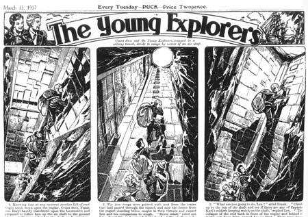 The Young Explorers by Reg Perrott
