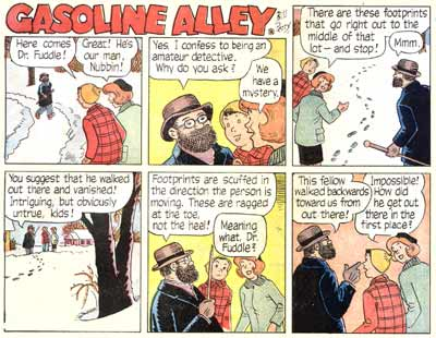 Gasoline Alley, by Bill Perry 1965