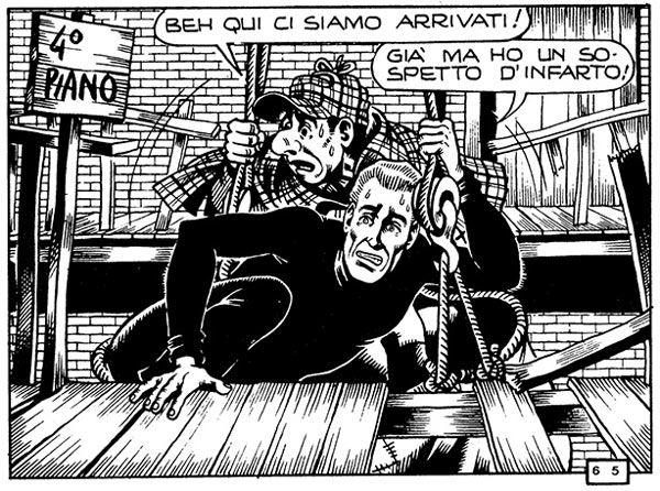 Alan Ford, by Paolo Piffarerio