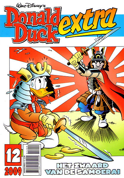 Donald Duck Extra cover by Jan-Roman Pikula