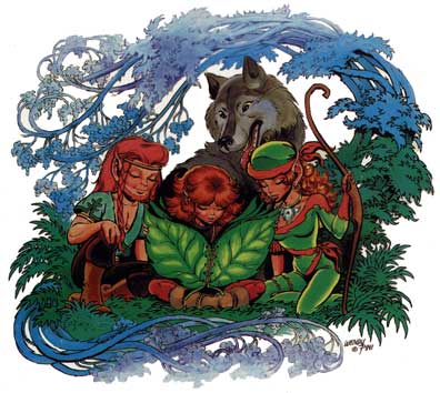 Richard & Wendy Pini, To The World Of Elfquest, Revised Edition