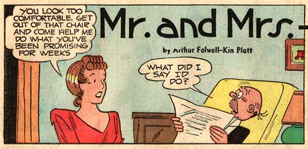 Mr and Mrs, by Kin Platt (1950)