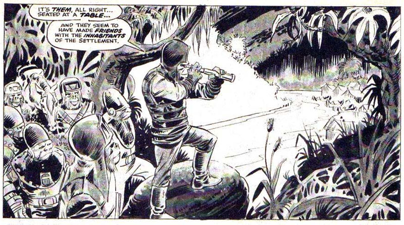 Planet of the Apes by Mike Ploog