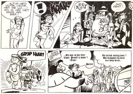 comic from Iris, by Remco Polman (1995)