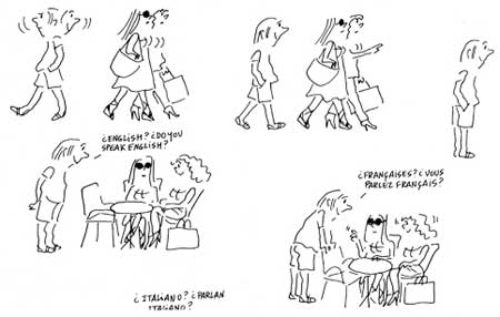 comic from Por Favor by Nuria Pompeia