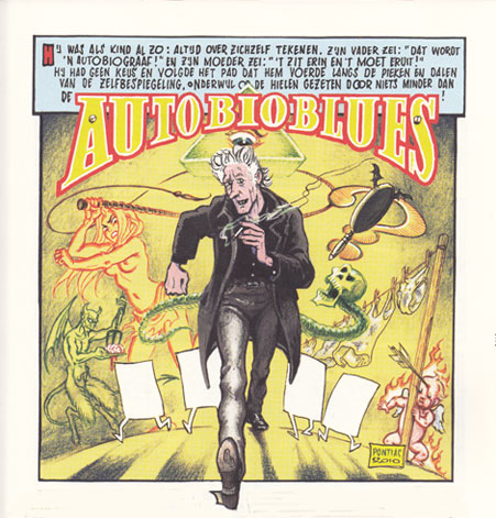 Autobioblues door Peter Pontiac