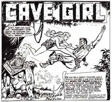 Cave Girl, by Bob Powell