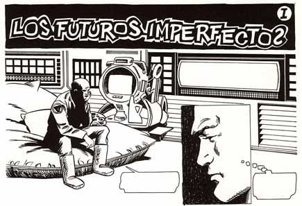 Los Futuros Imperfectos, by Enrique Puchades