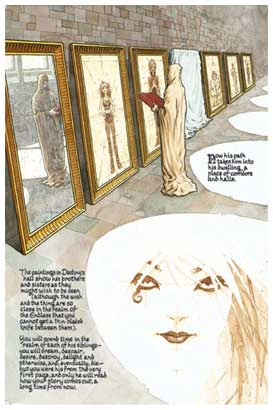The Sandman, by Frank Quitely