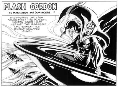 Flash Gordon, by Mac Raboy 1949