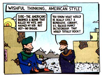 From: To Afghanistan and Back, by Ted Rall 2002