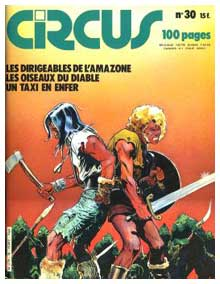cover for Circus, by Georges Ramaïoli