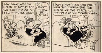 The Dumbunnies comic strip by Albertine Randall Wheelan