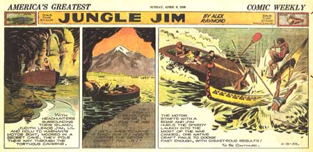 Jungle Jim, by Alex Raymond (1939)