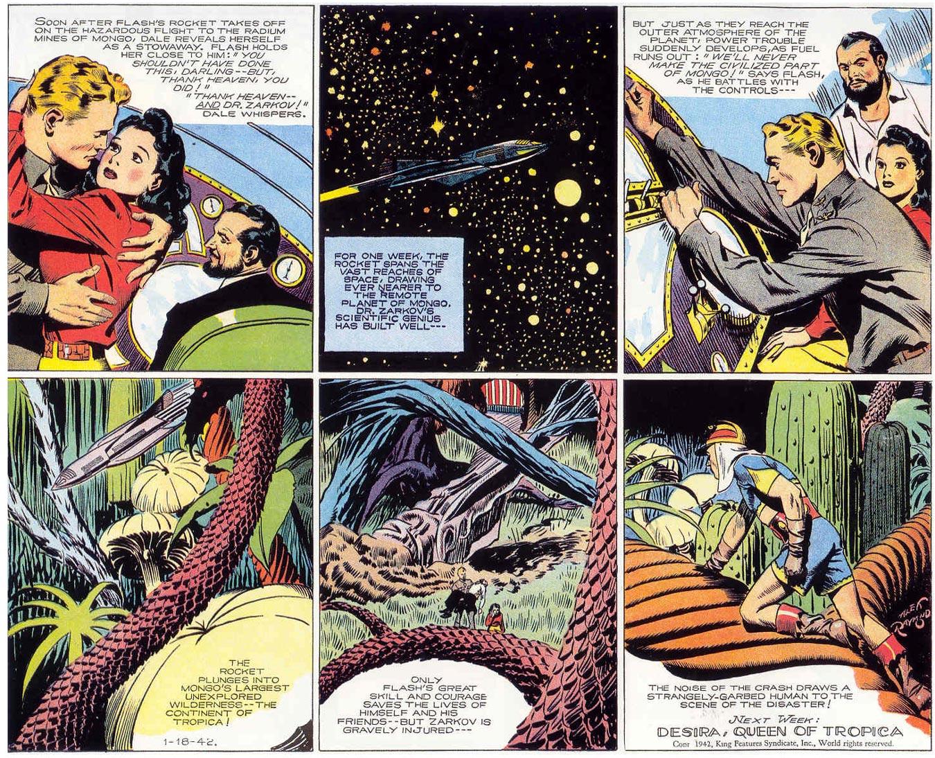 Discussion comic flash gordon strip All