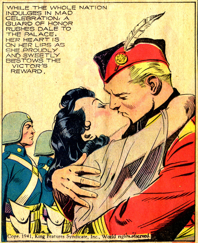 Flash Gordon, by Alex Raymond