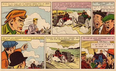 comic from Tintin (1955), by Raymond Reding