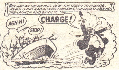 Jonah (The Hornet #492), by Ken Reid