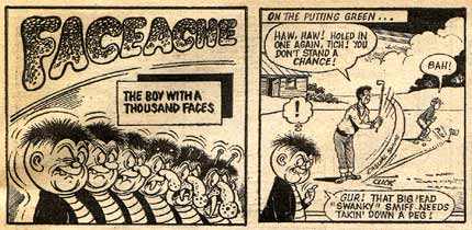 Faceache, by Ken Reid