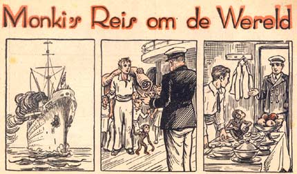 Monki's reis om de Wereld. by Bernardus Antonius J. Reith