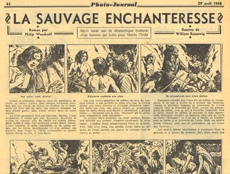 La Sauvage Enchaneresse by William Reusswig