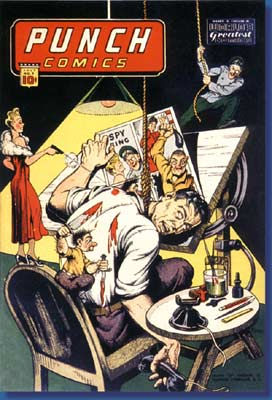 Punch Comic Cover, by Gus Ricca (1944)