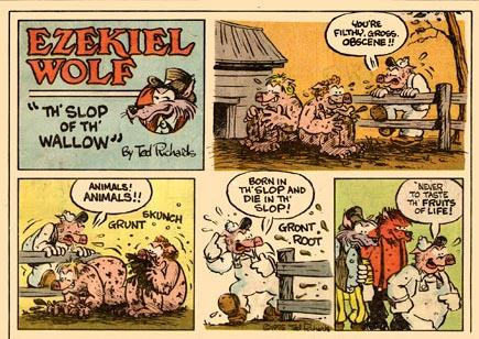Ezekiel Wolf, by Ted Richard (1975)