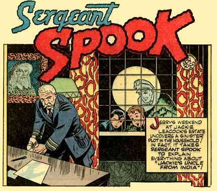 Sergeant Spook, by Don Rico (Blue Bolt, 1947)