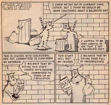 Catnip, by Jim Ridings (1992)