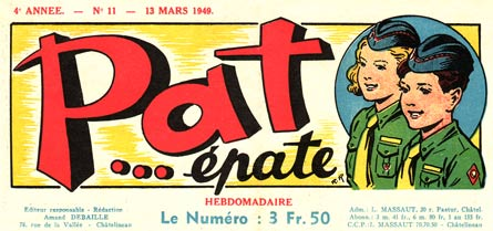 header for Pat... épate by Robert Rigot