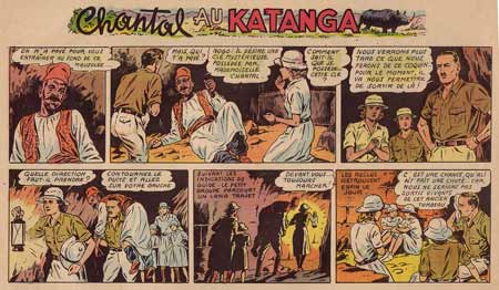 Chantal au Katanga, by Robert Rigot