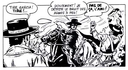 Zorro, by Robert Rigot