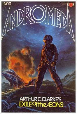 Cover of Andromeda, by Paul Rivoche