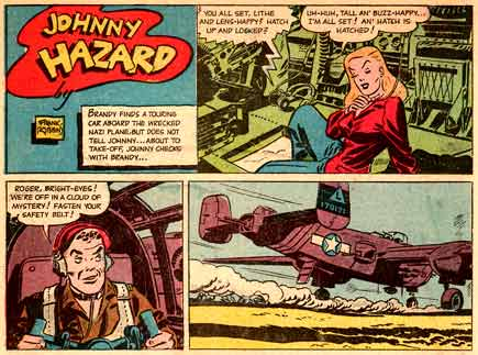 Johnny Hazard, by Frank Robbins