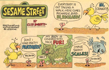 Sesame Street by Cliff Roberts