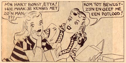 of comic strips Etta