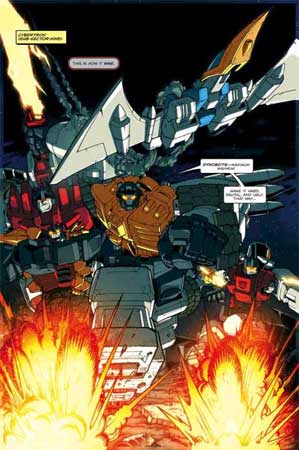 Transformers by Nick Roche