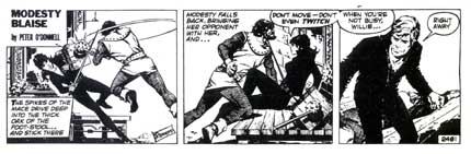 Modesty Blaise, by Romero