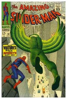 Cover for Amazing Spider-Man, by John Romita Sr.
