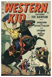 Cover for Western Kid, by John Romita Sr.