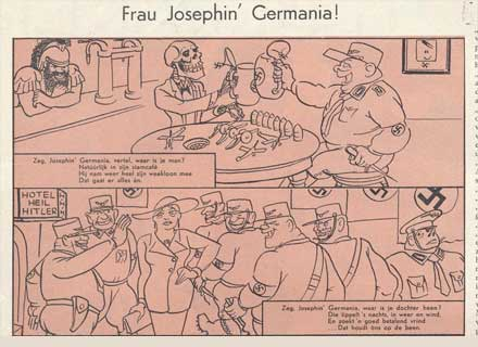Frau Josephin' Germania, by Jan Rot (Notenkraker, 1936)