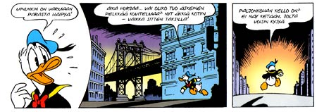 Donald Duck, by Marco Rota