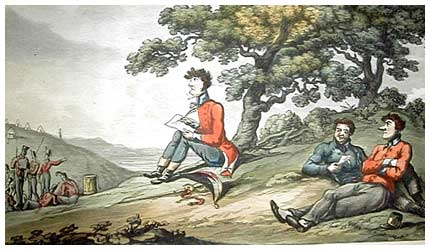 The Military Adventures of Johnny Newcombe, by Thomas Rowlandson