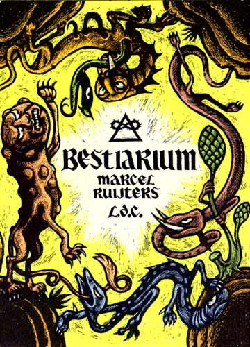 Bestiarium cover, by Marcel Ruijters