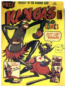 Kanga's Ko Comics, by Jim Russell