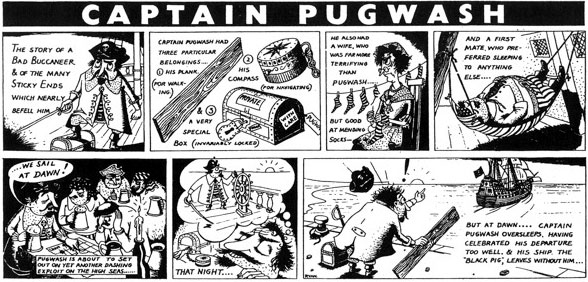 Captain Pughwash by John Ryan