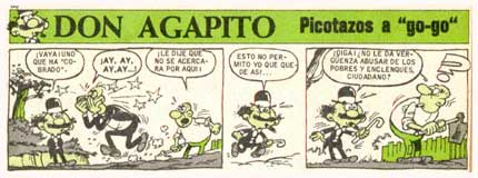 Don Agapito, by Blas Sanchis