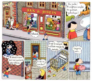 Comic for Spirou, by Vincent Sardon