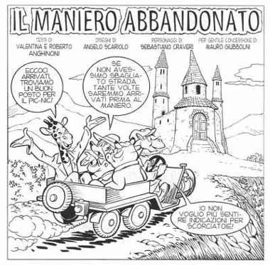 Il Maniero Abbandonato, by Angelo Scariolo (for INK)
